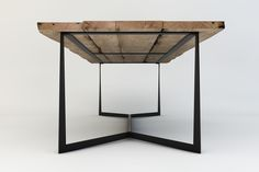 Tables with special design - solid wood and metal legs- Mese cu design special – lemn masiv și picioare metalice Table Design by Iacopo Boccalari - Decor, Furniture, Table, Furniture Legs, Wood And Metal, Table Furniture, Interior Furniture, Table Design, Coffee Table