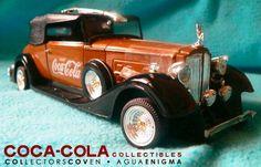 Coca Cola Die Cast Rolls Royce Car Limited Edition