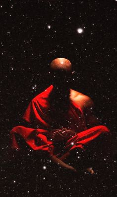 Buddhist connecting to the universe