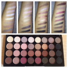 Magpie Jasmine: Review: Makeup Revolution Ultra 32 Shade Eyeshadow Palette in Flawless http://magpiejasmine.blogspot.co.uk/2014/09/review-sleek-eye-cheek-palette-in.html #bbloggers #beauty #makeup