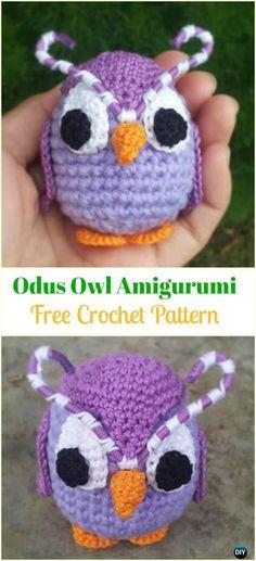 Crochet Odus Owl Amigurumi Free Pattern -Amigurumi Crochet Owl Free Patterns
