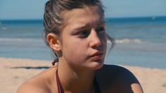blue is the warmest color adele gif Short Blue Hair, Blue Haired Girl, Adele Exarchopoulos, Blue Is The Warmest Colour, Laura Vandervoort, Mysterious Girl, Young Love, Film Serie, Christina Hendricks