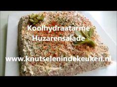 Frisse koolhydraatarme huzarensalade | Healthy | - Knutselen in de Keuken Go For It, Corned Beef, Baked Potato, Grains, Paleo, Low Carb, Menu, Potatoes, Rice
