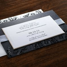 Lavish Invitation by Checkerboard