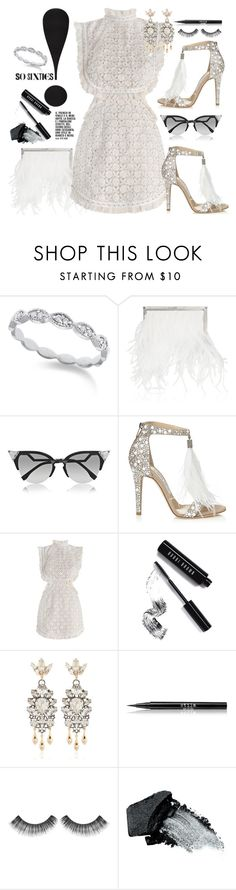 """""""So Sixties"""" by chrisger ❤ liked on Polyvore featuring KC Designs, Jimmy Choo, Fendi, Zimmermann, Bobbi Brown Cosmetics, Anton Heunis, Stila, Sephora Collection and Gorgeous Cosmetics"""