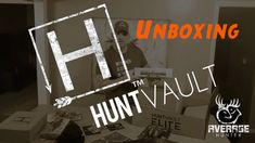 HuntVault unboxing of the January box and the December ELITE