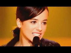 Alizée in her truly unique cover of Madonna's La Isla Bonita broadcast on French television back in 2003. This video has no watermark logos nor banners that appear in all the other videos.    For your entertainment only.