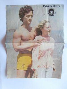 Patrick Duffy Robert Urich Mini Poster Greek Magazines clippings 80s 90s | eBay