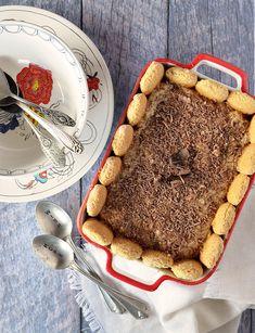 Postre de vainillas, dulce de leche y pastelera Sweet Recipes, Tiramisu, Sony, Ethnic Recipes, Dulce De Leche, Resep Pastry, Vanilla, Dessert, Sweets