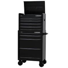 Husky 27 in. W 9-Drawer Tool Chest and Cabinet Set, Black-H5CH2R H4TR2R - The Home Depot