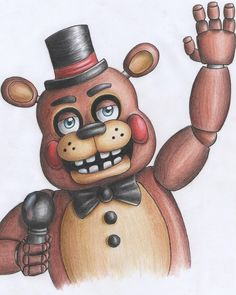 Toy Freddy (FNaF 2) by Pandaneko-xD.deviantart.com on @DeviantArt