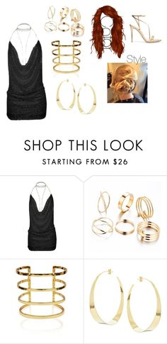 """Alec Chasse - Ollie's NYE Party"" by mercy-xix ❤ liked on Polyvore featuring Lana and Gianvito Rossi"