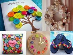 Durante il mio tempo libero...: Creare con i bottoni.