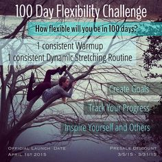 I am so excited to announce the upcoming 100 day flexibility challenge! As you may know last year I decided to do a 100 day contortion challenge, and it was a complete success. I would…