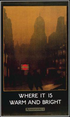 150 ans daffiches du métro de Londres londres london metro undergroud affiche poster 28 420x700