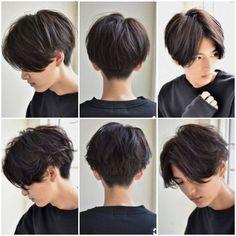 Pixie Bob Hairstyles, Tomboy Hairstyles, Pixie Haircut, Hairstyles Men, Haircut Men, Haircut Short, Zoella Hairstyles, Levi Haircut, Frontal Hairstyles