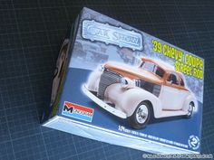 KIT REVIEW – 39 Chevy Coupe Street Rod – Monogram 1/24