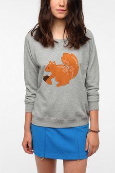 PJ By Peter Jensen Conversational Sweatshirt  #UrbanOutfitters @Allie Holmes