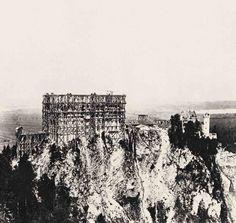El castillo en 1869