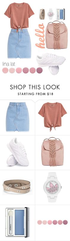 """Untitled #55"" by latypovagalina ❤ liked on Polyvore featuring H&M, Reebok, T-shirt & Jeans, Stella & Dot, adidas, Clinique and Deborah Lippmann"