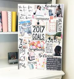 Here is my vision for 2017!!! 😍 #trglatenightcraftyclub @theresetgirl