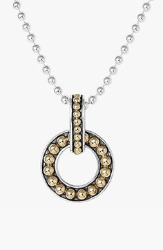 LAGOS 'Enso' Pendant Necklace available at #Nordstrom