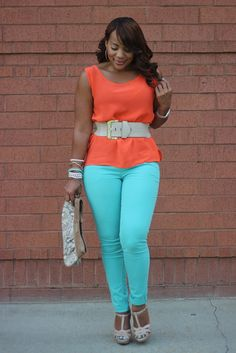 Jeimy's Fashion Love Affair...: Minty Summer...