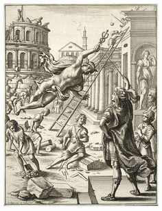 Wenceslaus Hollar (1607–1677)  Mercury and Aeneas.