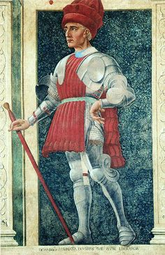 Depiction of Farinata degli Uberti by Andrea del Castagno