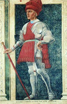 Depiction of Farinata degli Uberti by Andrea del Castagno