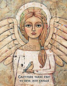 "New ""Gratitude"" 11x14 print on Etsy. www.etsy.com/shop/teresakogut"