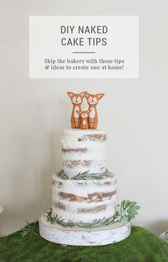 DIY Naked Cake – 5 T