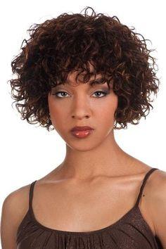 Vivica A. Fox Pure Stretch Cap Human Hair Wig - Whitney