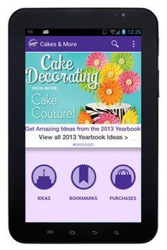 Wilton Cake Ideas & More iPad/iPhone App!
