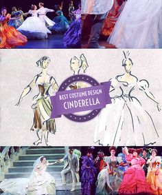 """signofthefour:  2013 Tony Award Winners:William Ivey Long (Cinderella), Best Costume Design for a Musical //""""I'm very conscious that it is such an honor and such aprivilegeto work in the American theatre."""""""