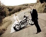Harley Wedding Picture