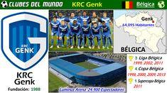 En 30 años de existencia, el KRC Genk logró 3 Ligas y Copas de Bélgica. Probablemente sea el club más rico de Bélgica. En 1988 se fundo, tras la fusión de Thor Waterschei y KFC Winterslag. Los colores del club son el blanco y el azul. El club disputa sus encuentros locales, en el Luminus Arena, un estadio moderno con capacidad para 24900 espectadores. Antes se le conocio como el estádio Fénix. #Gent #Belgica #Belgium #Football #Soccer #Fútbol #Belgique