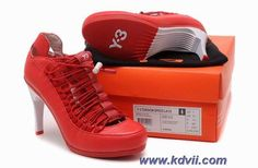 Discounts Womens Heels Sandals Red Shoes Adidas Y-3 Torsion Heel 90 Speed Lace Women