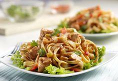 Campbell's Thai Chicken Fettuccine Salad Recipe