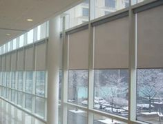 Automated Shades are perfect for your conference room.  Really set the tone of a meeting!  www.automatedshadestore.com