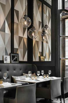 我們看到了。我們是生活@家。: 位在巴黎美麗的香榭麗舍大街,café Artcurial以美味的義大利菜色歡迎您!