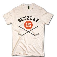 Ryan Getzlaf NHLPA Officially licensed T Shirt Anaheim Unisex XS-2XL Ryan  Getzlaf Sticks K 41814a45f
