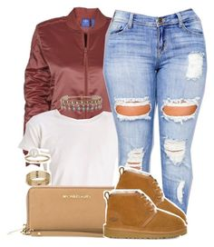 """"""""""" by trinsowavy ❤ liked on Polyvore featuring adidas, Miss Selfridge, MICHAEL Michael Kors, Clayton, UGG and ALDO"""