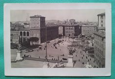 Piazza Venezia Old Photos, Vintage World Maps, Italy, History, Antique, Rome, Pictures, Old Pictures, Italia