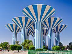 Kuwait city (Kuwait), Water towers
