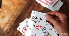 Easy card games like Go Fish are games that older adults can play confidently to boost self-esteem & happiness. It's also great to play with visitors.
