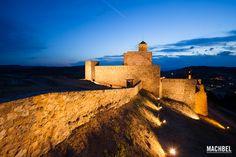 Castillo de Benabarre al atardecer