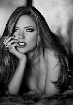 Adriana Lima, if nt thee most beautiful woman in the world she's deff up there