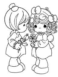 precious moments free colouring pages - Google Search