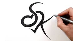 Images For > Fancy Letter S Designs | cool tattoos ...